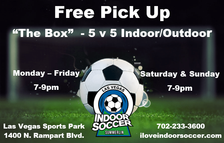 Las Vegas Indoor Soccer Sports Park. Soccer Leagues, Kids ...