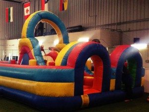Bouncy House Birthday Party at the Las Vegas Sports Park