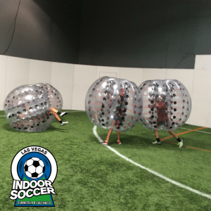 Bubble Soccer Birthday Party at the Las Vegas Sports Park